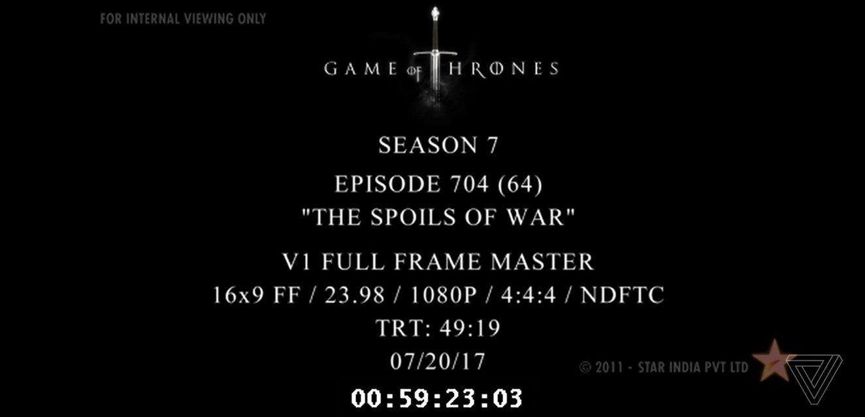 """В сеть слили 4 серию 7 сезона """"Игры престолов"""" - фото 63746"""