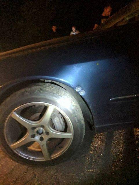 Под Киевом расстреляли машину главы организации владельцев авто на европейских номерах - фото 66458