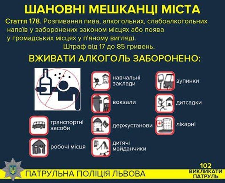 Полиция оштрафовала львовянина за распитие пива в трамвае - фото 67002