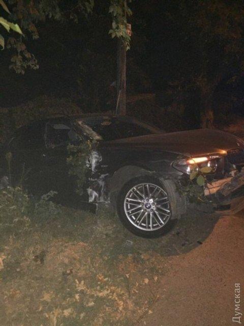 Одессит с документами майора СБУ сбил женщину-мотоциклиста и уехал с места ДТП - фото 67223