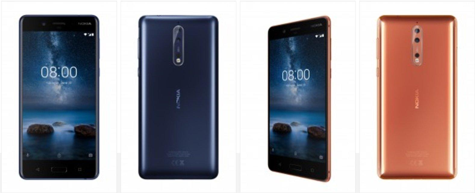 Nokia 8 официально выходит в продажу с 6 сентября по €600 - фото 67229