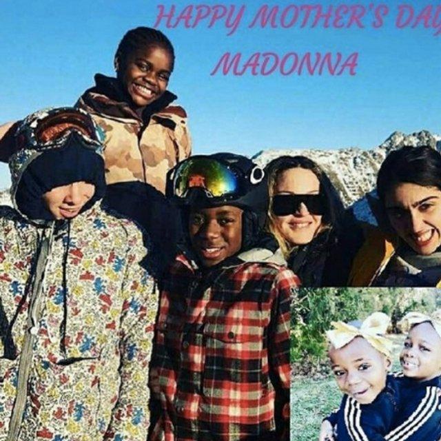 Фото Мадонны с детьми - фото 68085