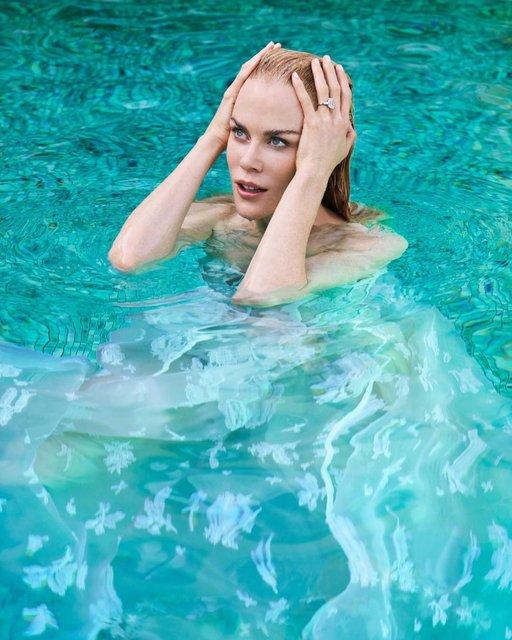 Николь Кидман стала героиней соблазнительной фотосессии - фото 69770