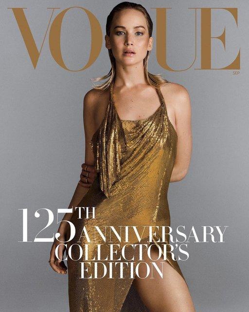 Дженнифер Лоуренс для Vogue - фото 65096