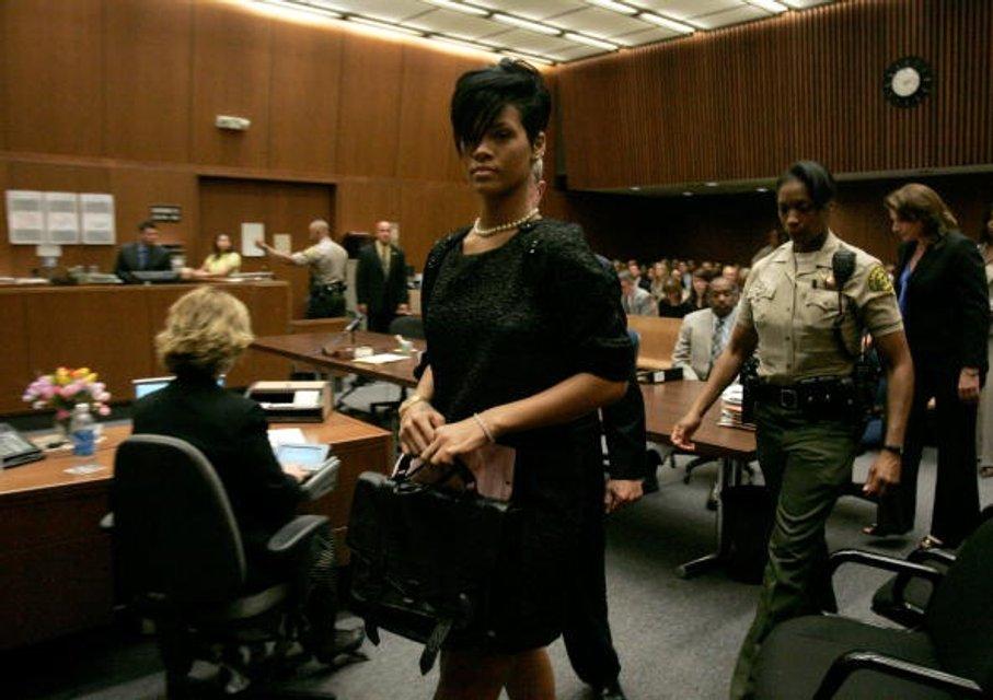 Суд над Крисом Брауном - фото 67135
