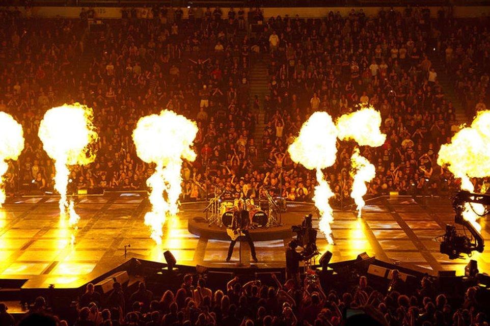 Metallica опубликовала видео концерта в Эдмонтоне на следующий день после выступления - фото 67305