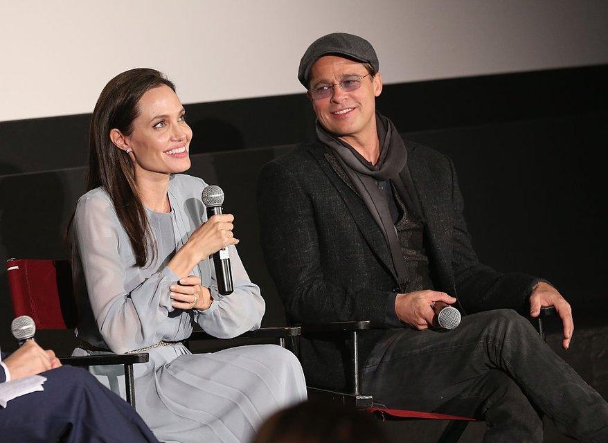 Анджелина Джоли и Брэд Питт: фото - фото 65067