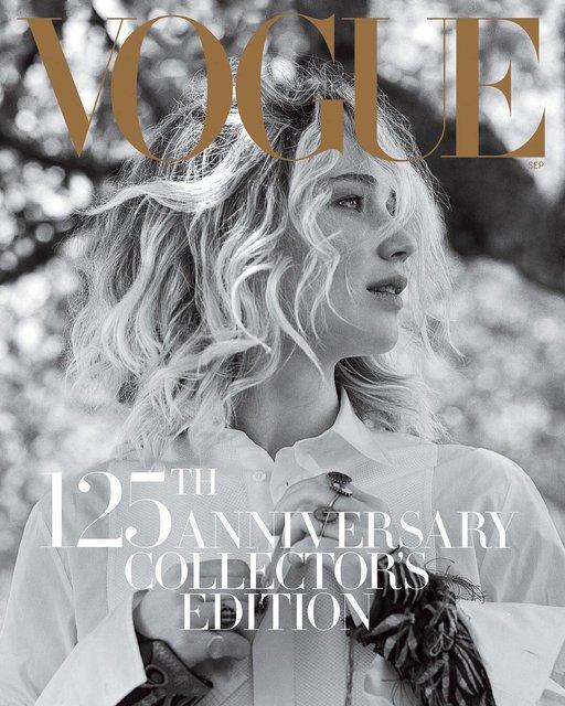 Дженнифер Лоуренс для Vogue - фото 65095