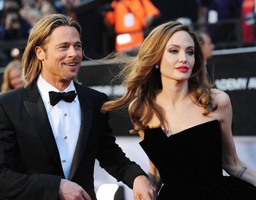 Анджелина Джоли и Брэд Питт: фото - фото 65065