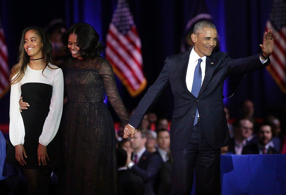 Малия Обама работала ассистентом Холли Берри - фото 63756