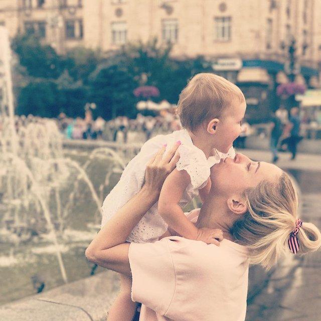 Тоня Матвиенко с дочкой: фото - фото 66118