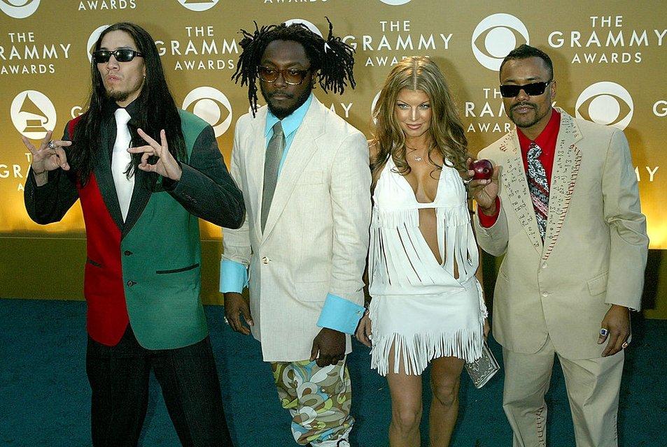 Ферги в составе группы The Black Eyed Peas - фото 65776