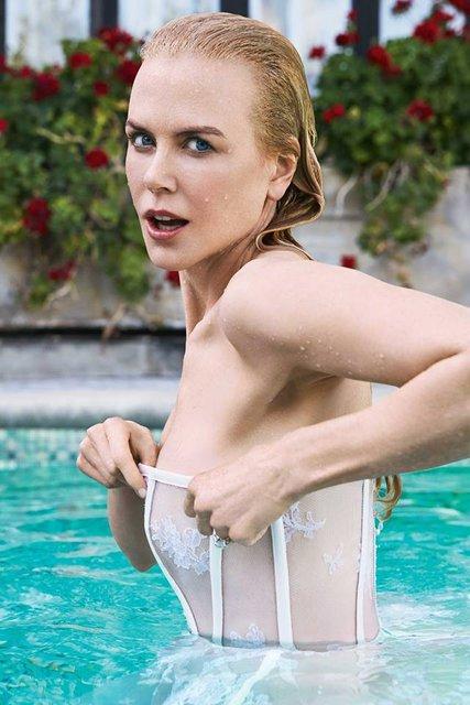 Николь Кидман стала героиней соблазнительной фотосессии - фото 69766