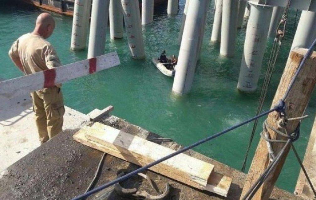 ЧП на строительстве Керченского моста: 18 человек погибло, 34 госпитализированы - фото 69443