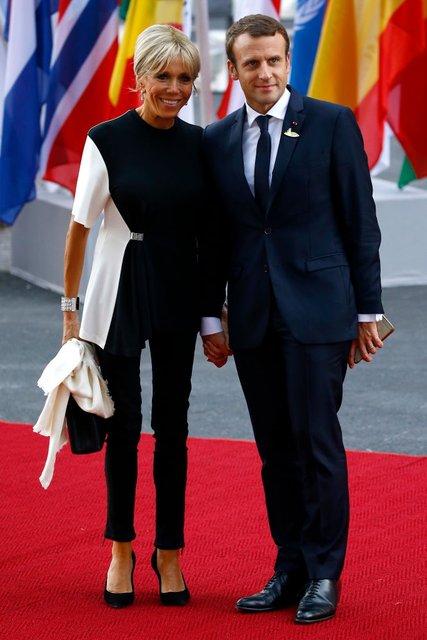 Брижит Макрон заявила, что ей не нужна зарплата в качестве первой леди Франции - фото 67629
