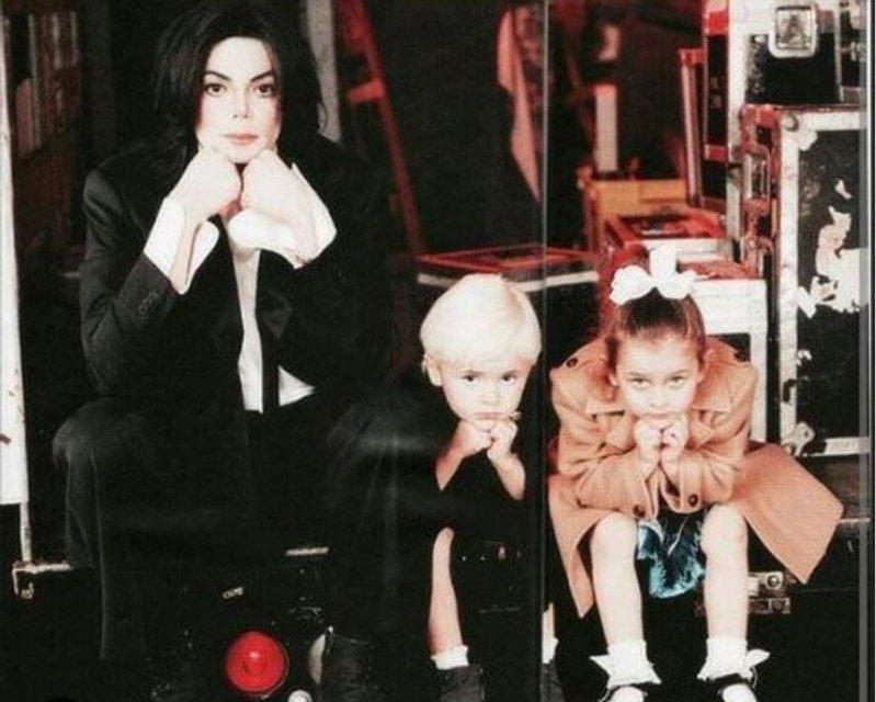 Пэрис Джексон показала милое фото с отцом - фото 65265