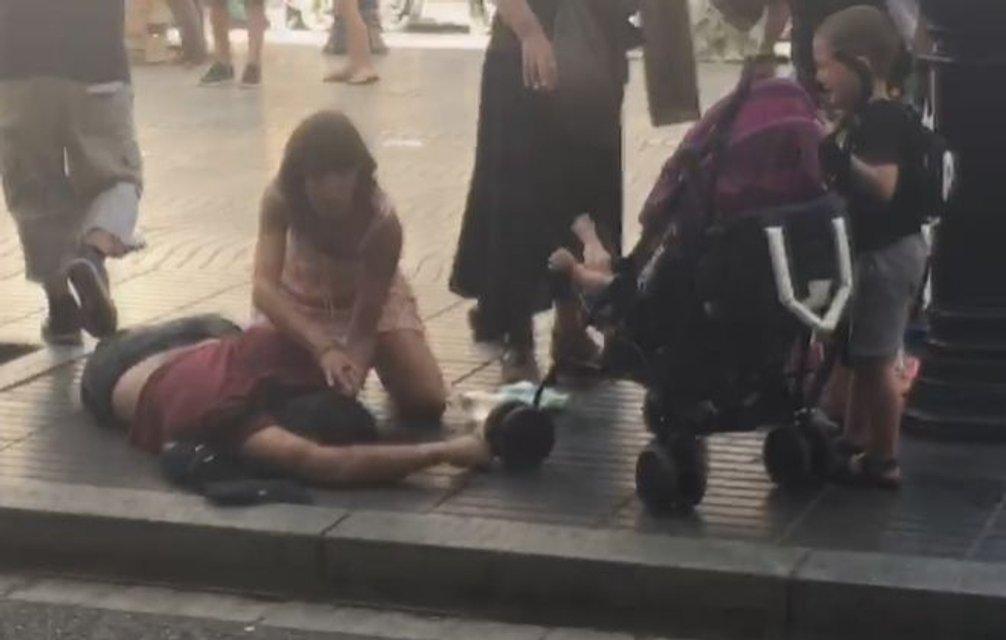 Теракт в Барселоне - фото 67470