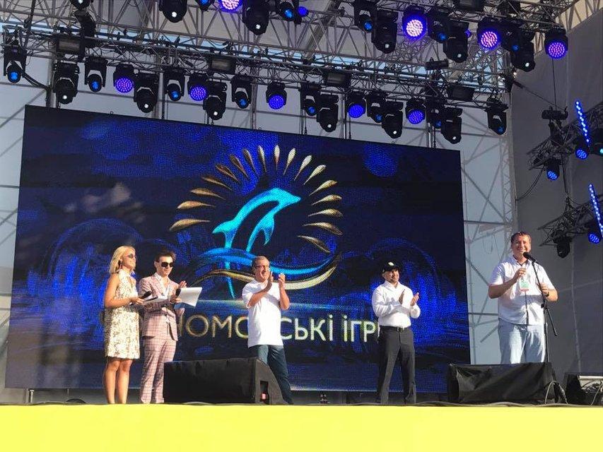Черноморские Игры 2017 в Скадовске: фото с открытия фестиваля - фото 63871