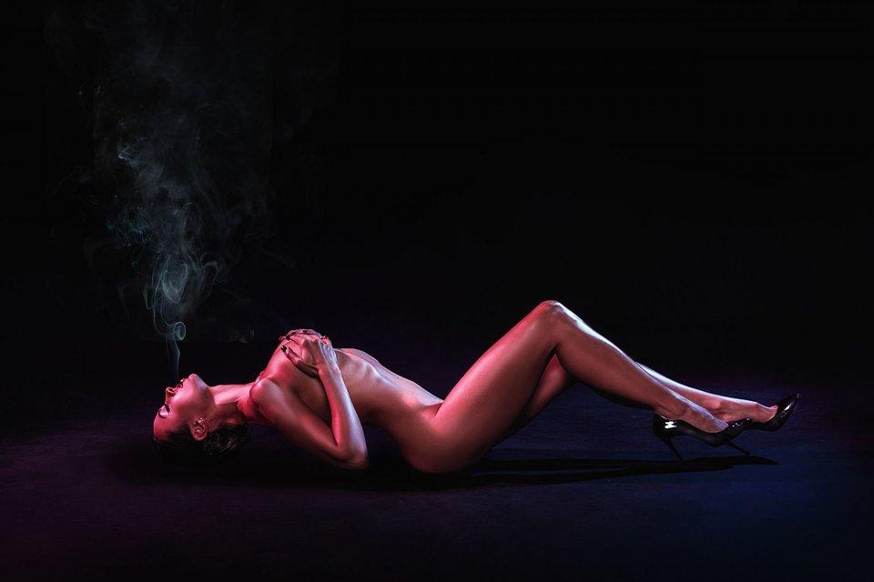 Экс-NIKITA Анастасия Кумейко полностью разделась для рекламы - фото 68422