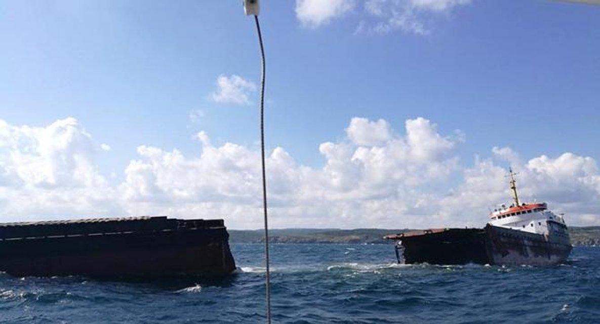 Судно Leonardo, незаконно торговавшее с Крымом попало в аварию у Босфора - фото 69647