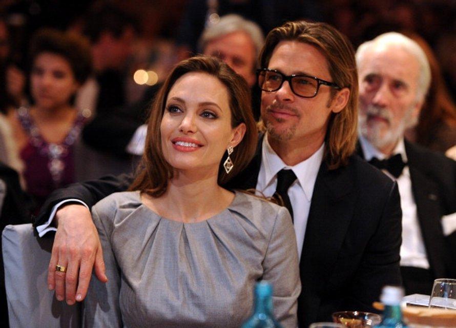 Анджелина Джоли и Брэд Питт: фото - фото 65064