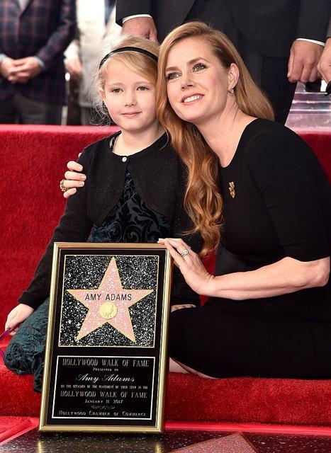 Эми Адамс с дочкой - фото 66996