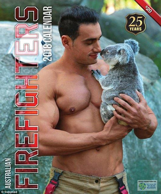 """Сеть """"взорвал"""" календарь с обнаженными пожарными Австралии - фото 63523"""