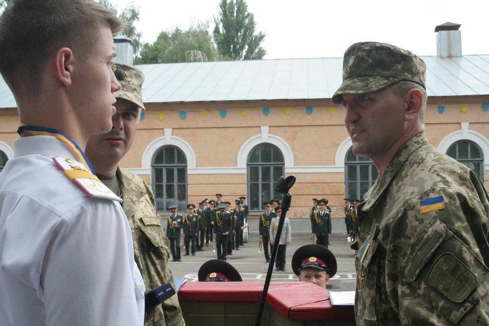 У військовому ліцеї Ігор Гордійчук наводить порядок - фото 67979