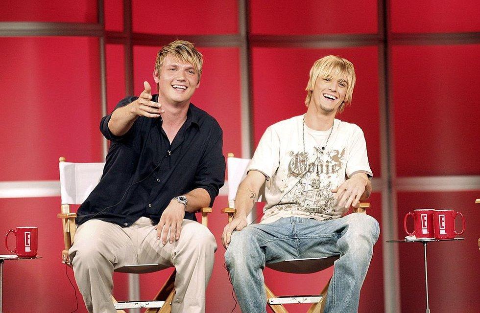 Ник и Аарон Картеры - фото 64333