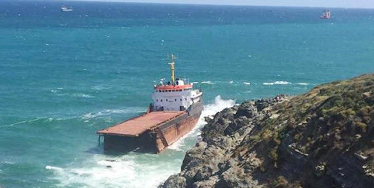 Судно Leonardo, незаконно торговавшее с Крымом попало в аварию у Босфора - фото 69646