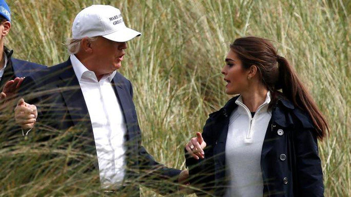 Интересно, у Хоупс и Дональда только рабочие отношения? - фото 67153