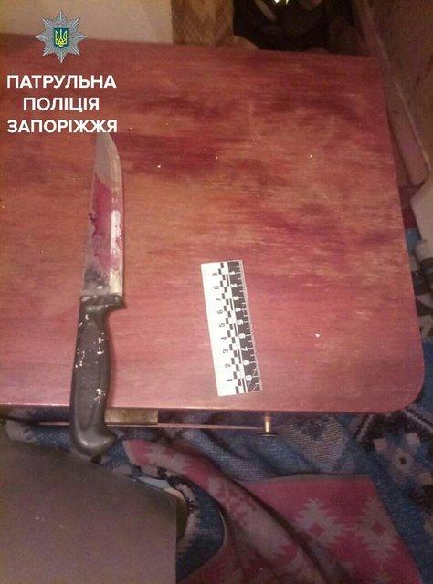 В Запорожье на глазах у полиции и жителей дома зарезали главу ОСМД - фото 68840