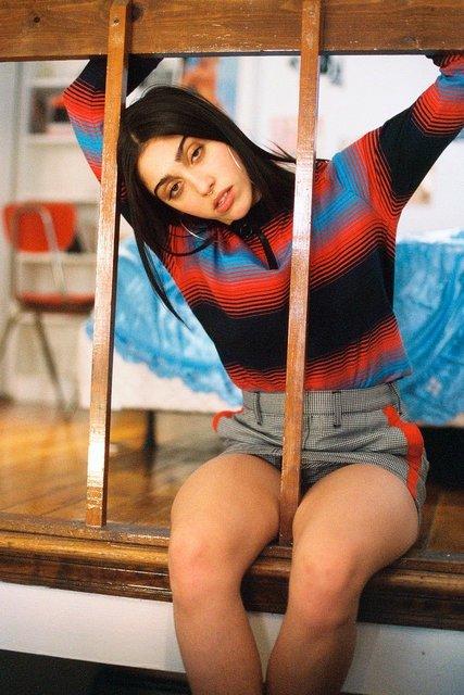Дочь Мадонны Лурдес Леон стала лицом феминистского бренда одежды - фото 68592