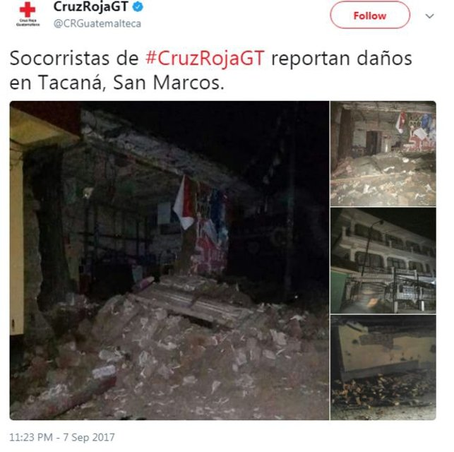 Возле берегов Мексики произошло сильное землетрясение (фото, видео) - фото 72326