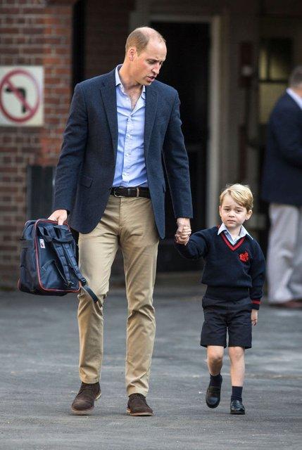 Принцу Джорджу надоело ходить в школу - фото 76831