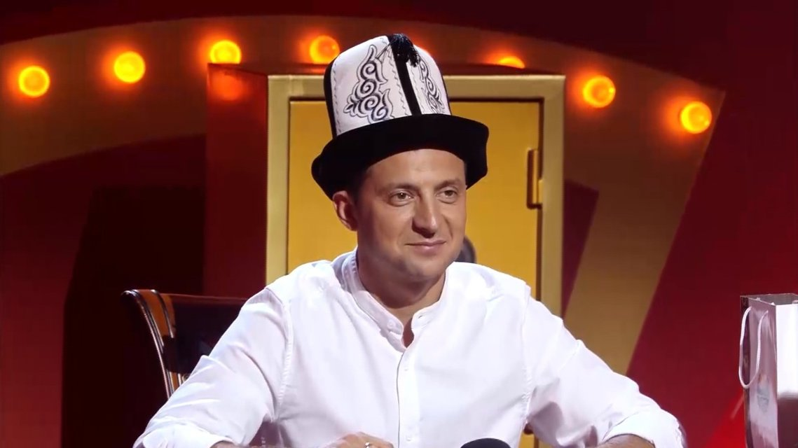 Владимира Зеленского короновали на уникальном выпуске шоу