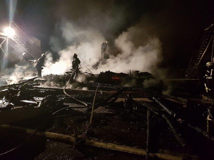 """Пожар в детском лагере """"Виктория"""" - фото 74338"""
