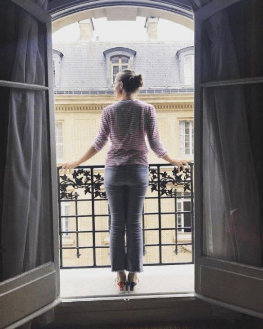 Катя Осадчая порадовала снимками из Парижа - фото 76642