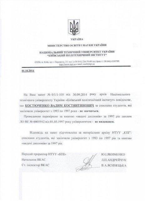 У вице-президента Федерации футбола оказался поддельный диплом - фото 73636