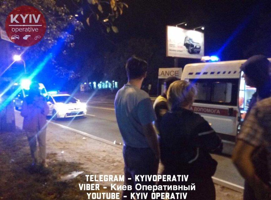 Смертельное ДТП на Минском проспекте в Киеве - фото 74500