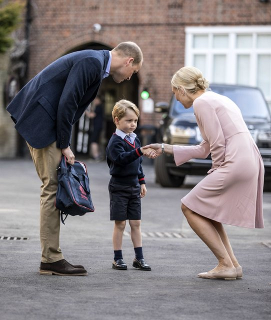 В Лондоне пытались похитить принца Джорджа - фото 73999