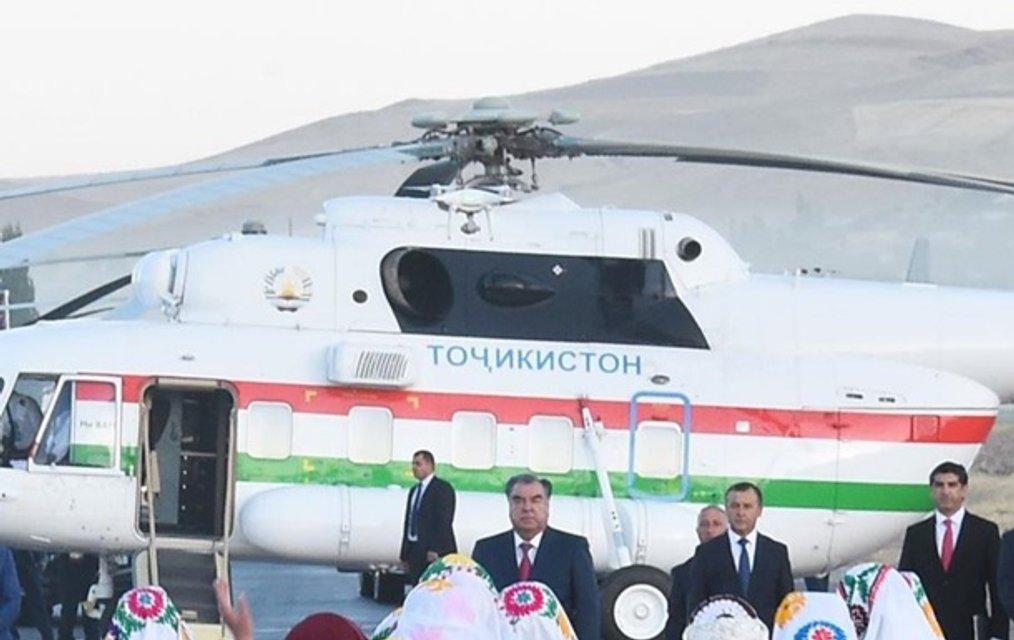 Начальник аэропорта погиб, провожая вертолет президента Таджикистана - фото 73849
