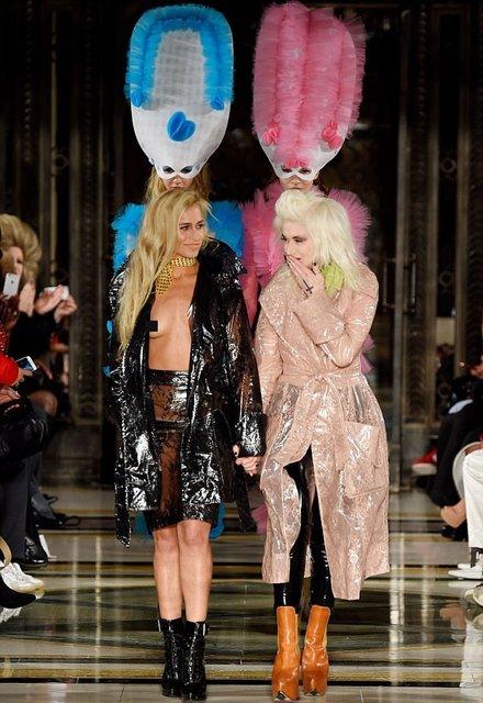 Элис Деллал произвела фурор на открытии Недели моды в Лондоне - фото 74235