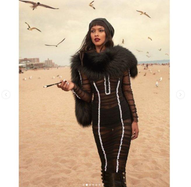 Лаис Рибейро поразила красотой в фотосете IRIS covet book  - фото 75117