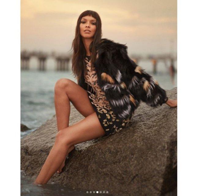 Лаис Рибейро поразила красотой в фотосете IRIS covet book  - фото 75114
