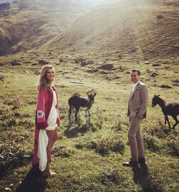 Ведущий Александр Скичко и Елизавета Юрушева устроили себе свадебный экстрим (фото) - фото 71983