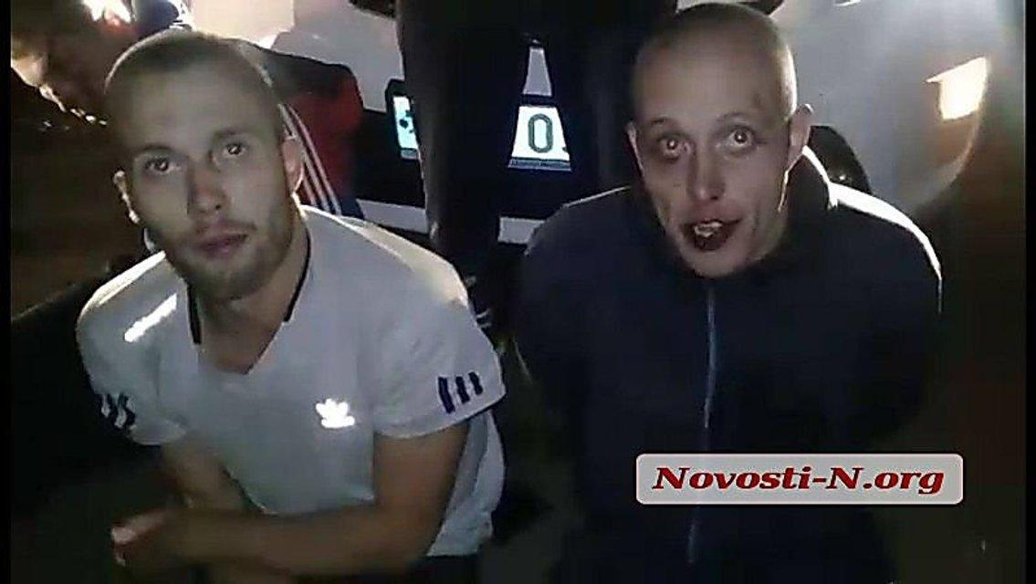 В Николаеве в ходе погони со стрельбой задержали пьяных морпехов - фото 77407