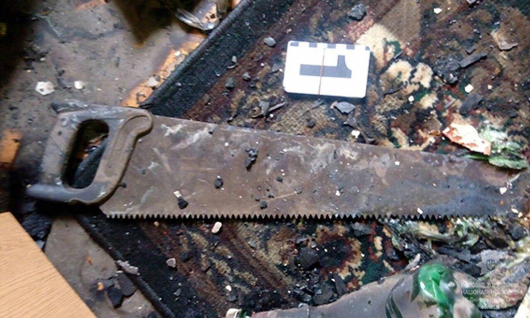 В Днепропетровской области насильник сжег квартиру, чтоб замести следы - фото 70891