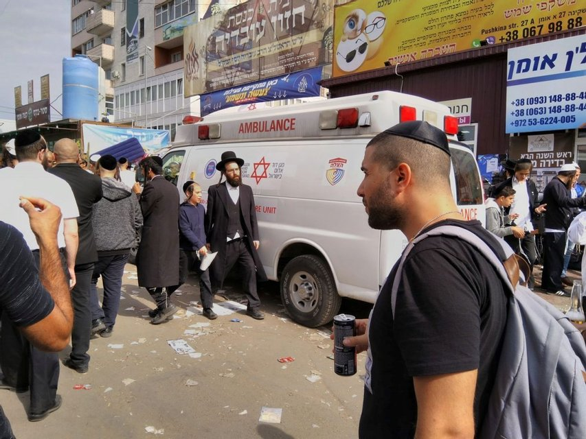 В Умани началось празднование иудейского Нового года (фото, видео) - фото 75424