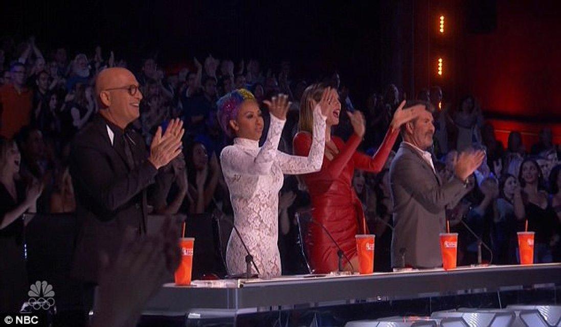 Хайди Клум поразила красотой на шоу